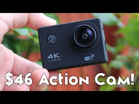 $46 Action Camera - Does it Suck? [GO PRO KILLER?!?! - F60B 4K CAMERA]