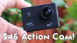 $46 Action Camera - Does it Suck? [GO PRO KILLER?!?! - F60B 4K CAMERA]