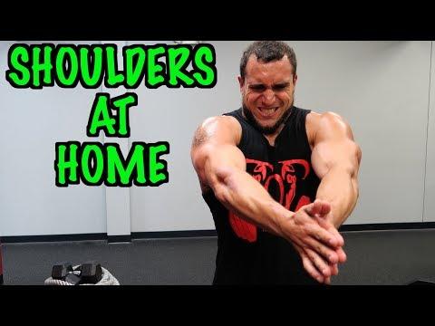 Intense Tabata At Home Shoulder Workout
