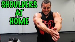 Intense Tabata At Home Shoulder Workout (HIIT)