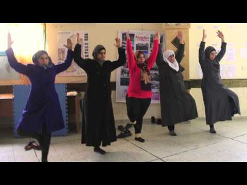 Training yoga teachers in Palestinian Territories