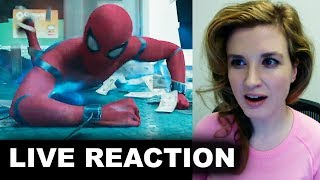 Spider-Man Homecoming Trailer 3 REACTION