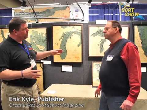 Carved Lake Art at The 2015 Grand Rapids Boat Show