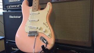 Video MJT Stratocaster - Shell Pink Relic Partscaster download MP3, 3GP, MP4, WEBM, AVI, FLV Juli 2018