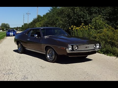 1971 American Motors AMC Javelin AMX 360 in Burnished Brown on My Car Story with Lou Costabile