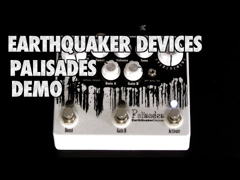 Earthquaker Devices Palisades Overdrive Demo