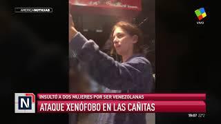 Video: Violento y xenófobo ataque racista contra dos jóvenes por ser venezolanas