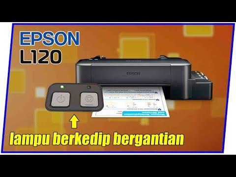 Cara Mengatasi Printer Epson L120 Lampu Menyala Bersamaan, simak video sampai selesai..