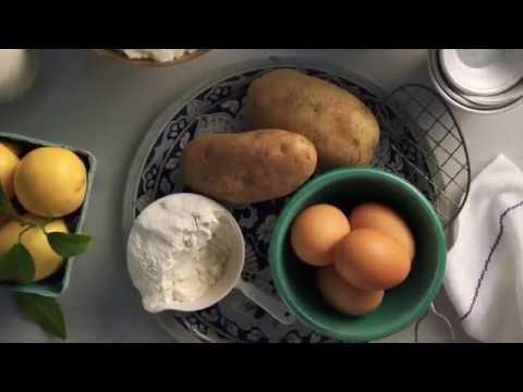 Idaho Potato Doughnut Holes with Salted Caramel Glaze