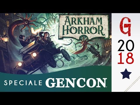 Gencon news 03/ Arkham Horror 3rd Edition