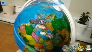 видео Интерактивный глобус
