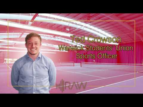 Ted Crowson | SU Sports Officer | RAW Interviews