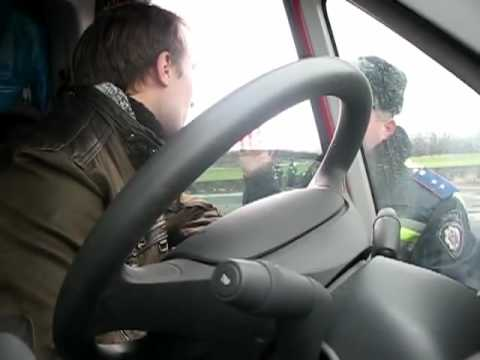 Водитель идеально знает законы и быстро отшивает ГАИ