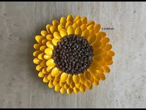Pinecone Sunflower DIY Centerpiece / Wall Art Decor - YouTube