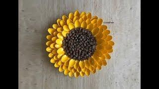 Diy: Pinecone Sunflower Centerpiece / Wall Art Decor {madebyfate} #86