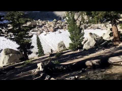 Mt Whitney trail conditions July 1st 2017
