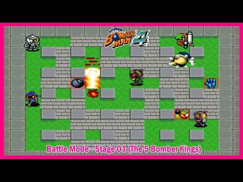 Resultado de imagem para super bomberman 4 battle mode