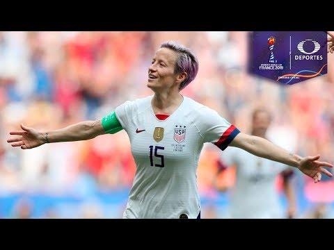 Penal de Megan Rapioe | Estados Unidos 1 - 0 Holanda | Mundial Femenil - Final | Televisa Deportes