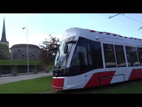 Tallinn, Estonia - Tallinn Tram Network (2018)