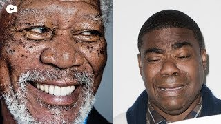 Comedian Tracy Morgan Says Morgan Freeman Slapped Him In The Face