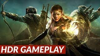 The Elder Scrolls Online - HDR gameplay [PS4 Pro]