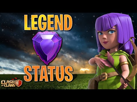 LEGEND LEAGUE AFTER A YEAR!  Clash Of Clans