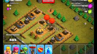 Clash of Clans Level 16 - Fort Knobs