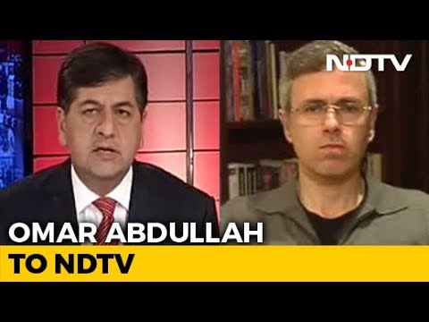 """""""Lessons To Be Learnt"""": Omar Abdullah To NDTV After Pulwama Attack"""