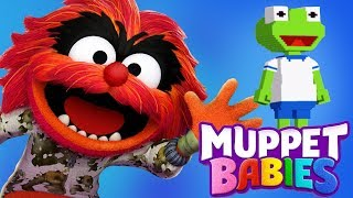 Muppet Babies Monster & Kermit Summer Arcade Mini Children's Games - Disney Junior App For Kids