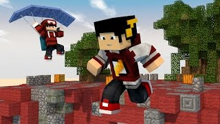 Minecraft Mods: Andando Pelo AR - SKY WARS Paraquedas ‹ AMENIC ›