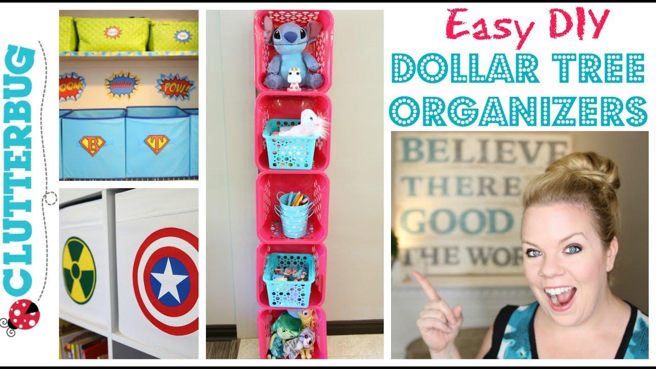 Easy Diy Dollar Tree Organizer How To Make A Storage