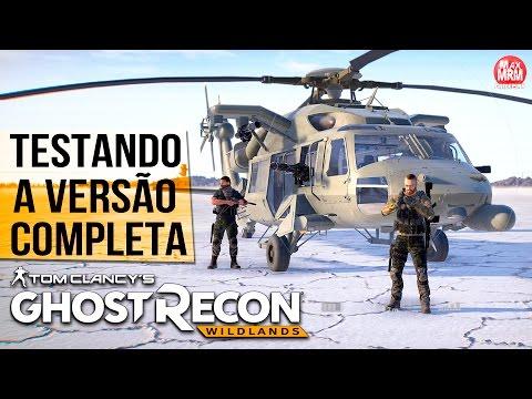 Ghost Recon Wildlands - TESTANDO A VERSÃO FINAL / Explorando o Mapa GIGANTE! ( PS4 Pro )