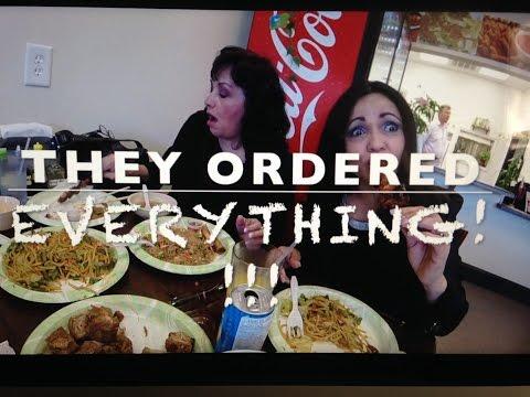 FILIPINO Cuisine Bitter Melon NC Part 1 | Latinas Eating Filipino Food | FOOD TRIP with GoPRO HERO
