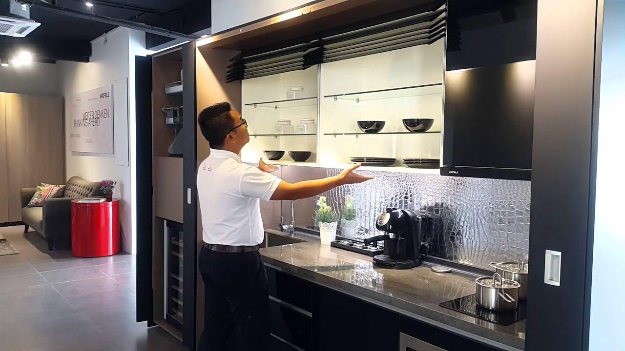 Hafele Futuristic Kitchen  YouTube