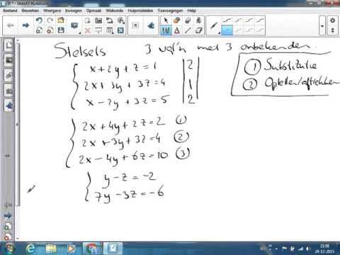 Algebra - Vergelijkingen met een parameter (VWO wiskunde B) from YouTube · Duration:  13 minutes 45 seconds