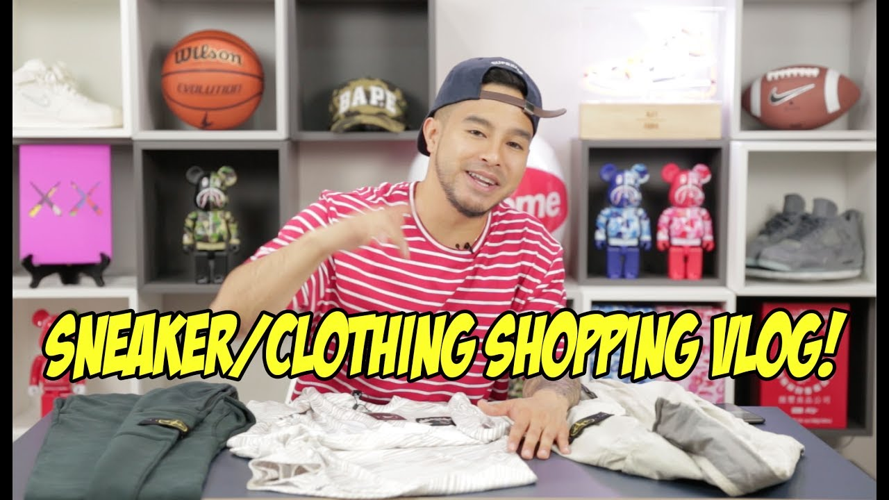 IS STONE ISLAND THE NEW HOTNESS ! SHOPPING IN LONDON! - YouTube 505f7f0b0