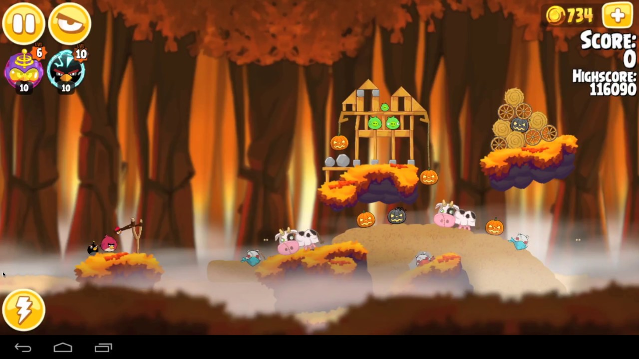 Angry Birds Hammier Things angry birds seasons hammier things level 1 21 123010