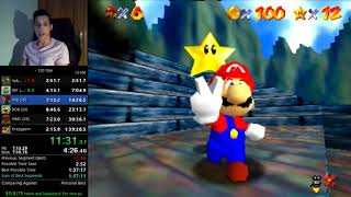 *Former WR* Super Mario 64 120 star Speedrun in 1hr 39m 20s