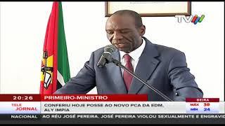 Primeiro-Ministro conferiu ontem posse ao novo PCA da EDM, Aly Impia
