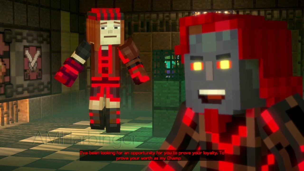Minecraft Story Mode Season 2 Episode 3 Jailhouse Block Jesse Vs Petra Youtube