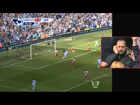 Thumbnail: Last five minutes of Manchester City 3 QPR 2 / SUN v MUFC