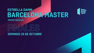 Finales -Estrella Damm Barcelona Master 2020- World Padel Tour