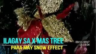 ARTIFICIAL SNOW MADE OF PERLA SOAP