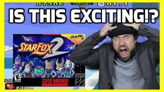 Star Fox 2 For Super Nintendo Mini - Is It Worth Playing!? - THGM