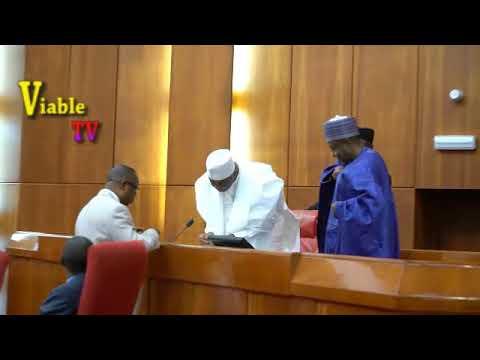 Just In : Finally, Saraki Recognises Isaac Alfa as Kogi East Senator