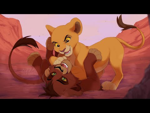 Киара и Кову -  Ты знаешь, кто мой папа?! ✴ Kiara and Kovu - Do you know who my dad is?!