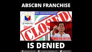 ABS-CBN TULUYAN NG IPINASARA NG MAMBABATAS NG PILIPINAS DAHIL SA DAMI NG VIOLATIONS?