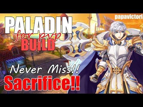 Ragnarok Mobile : Paladin Sacrifice PVP Build