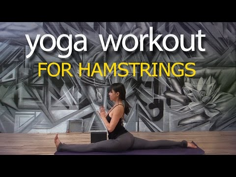 Yoga Workout for Hamstrings, with Hanumanasana ~ Ditch the Agenda