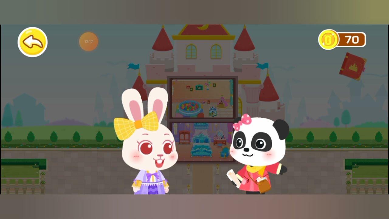 🐼 Baby Bus   Mendekorasi Istana Impian   Gamplay Android   Bahasa Indonesia